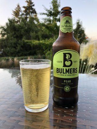 Bulmers Cidre Birnen im Garten
